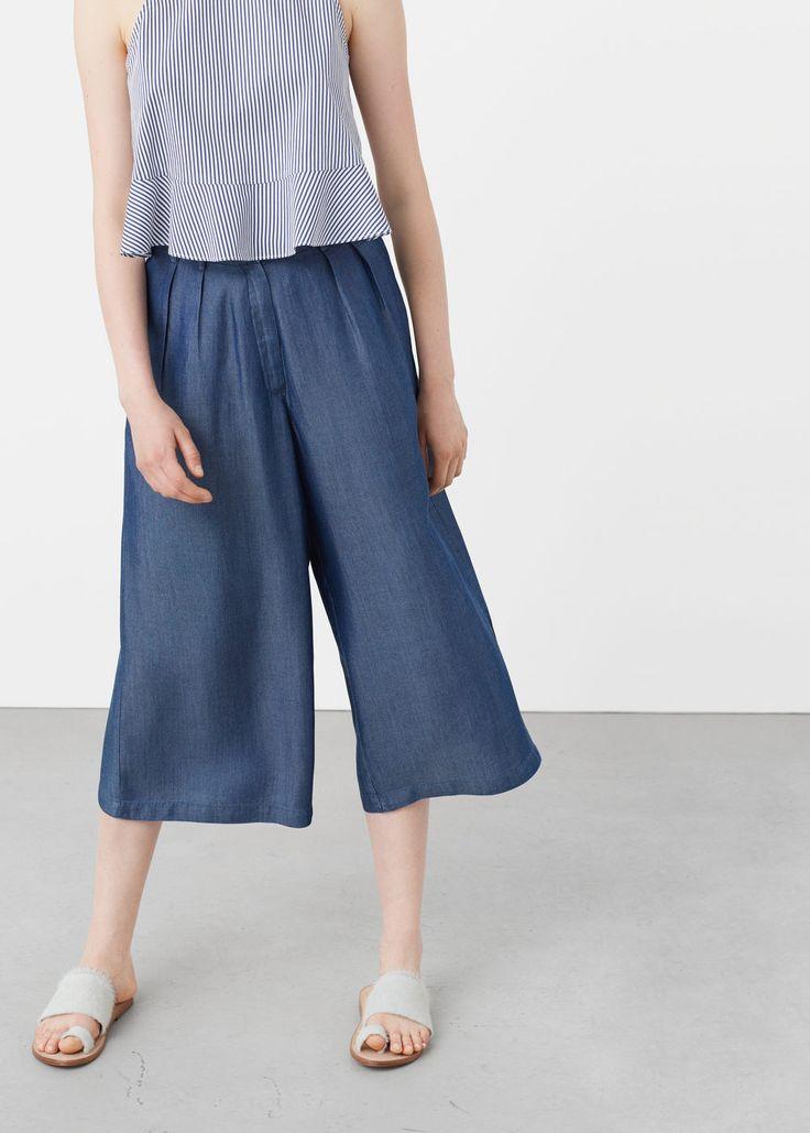 Παντελόνι ντένιμ soft | MANGO ΜΑΝΓΚΟ
