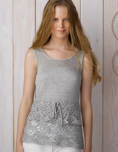Book Woman Chic 89 Spring / Summer | 7: Woman Top | Pearl light grey