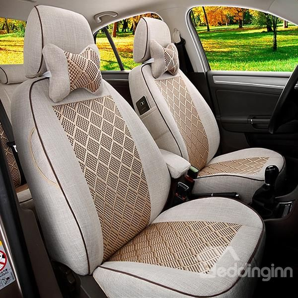 Fast Exothermic Breathable And Soft Car Seat Cover Decor
