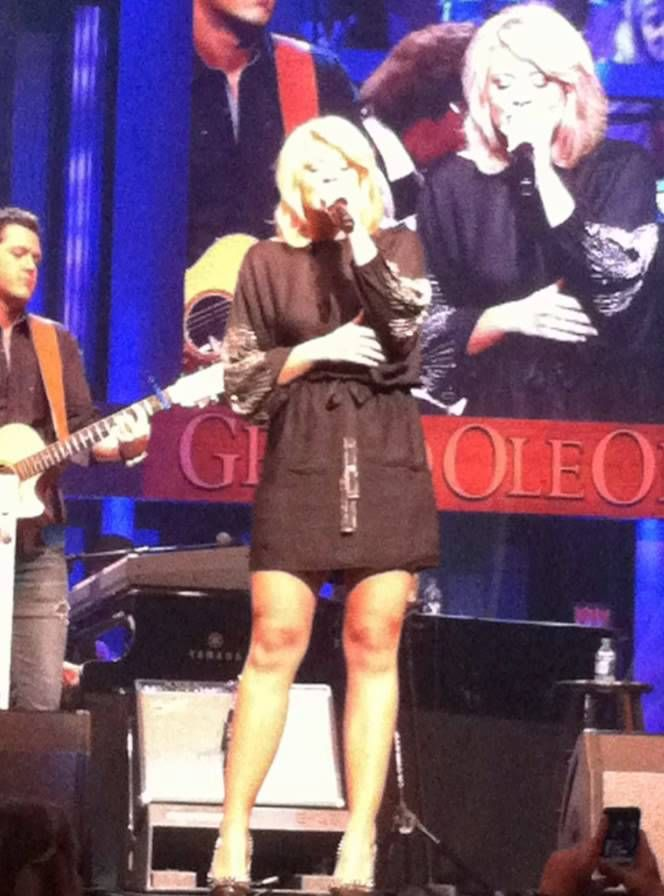 Lauren Alaina 2012 Grand Ole Orpy 2012 CMA Fest