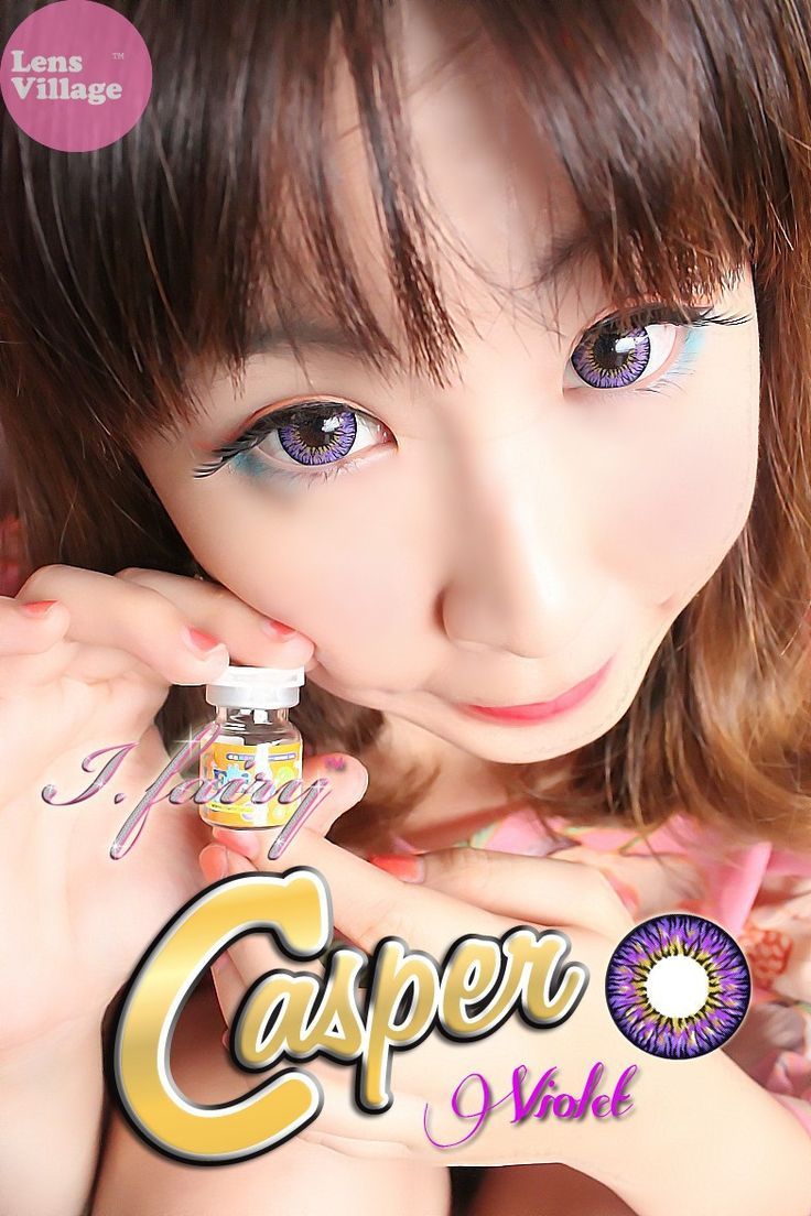 Color contact lenses online shop - Fairy Casper Violet Lens Eye Contactscolored Contactslenses Onlinecircle