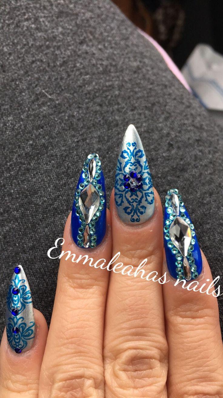 Nail Art Ideas Swarovski Crystal Rhinestones Nail Art Pictures