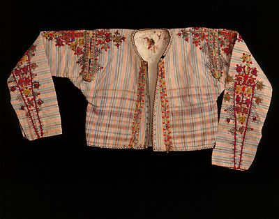 Traditional male 'zimbouni' (waistcoat) from Karpasia (Cyprus). Greek, early 20th c.
