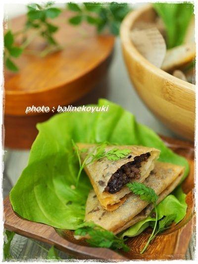 モロッコの定番料理!牛ひき肉とレーズンのブリワット by バリ猫 ...