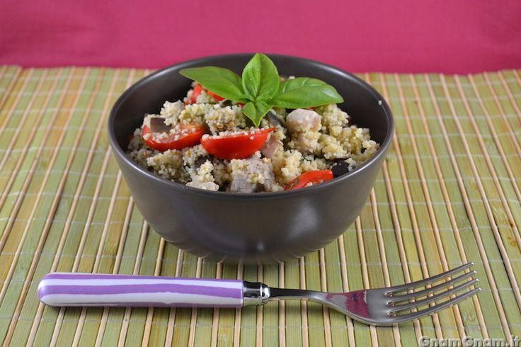 Scopri la ricetta di: Cous cous pesce spada e melanzane