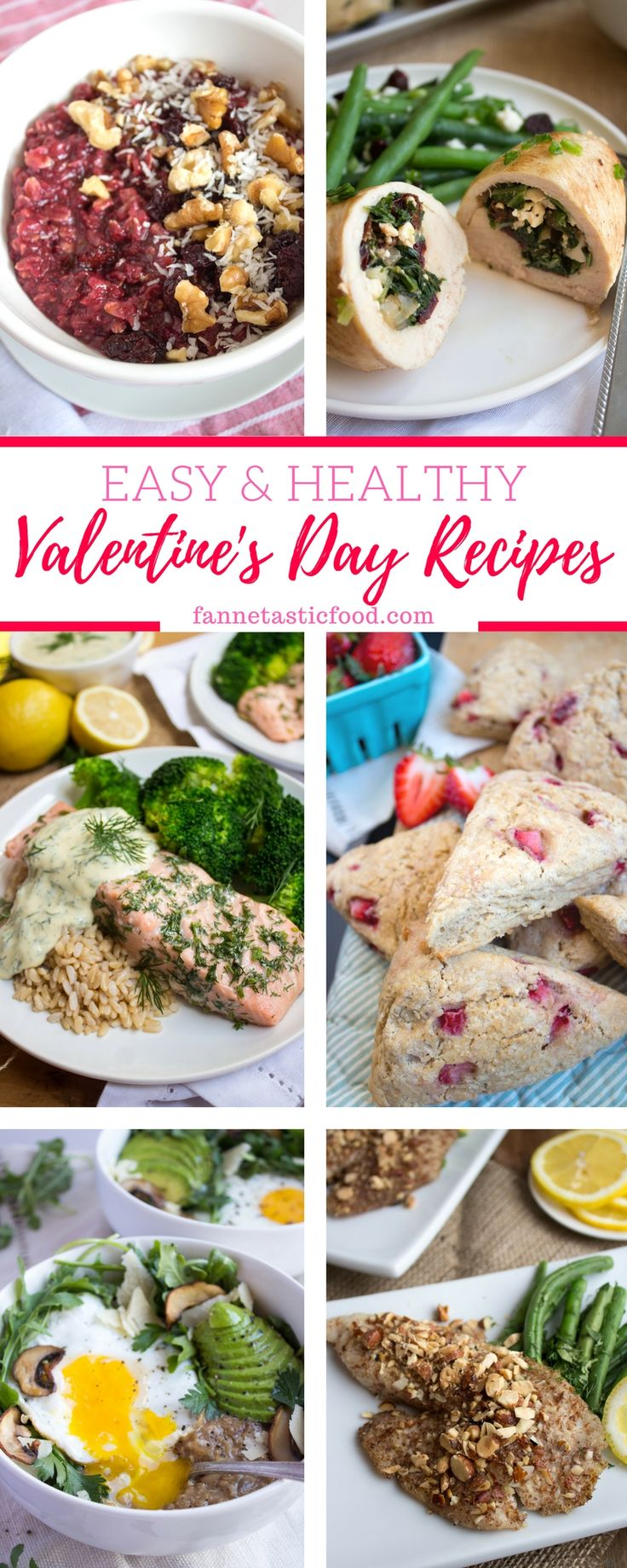 These are my favorite easy, healthy Valentine's Day Recipes! They are perfect for showing someone you love them - and care about their health!