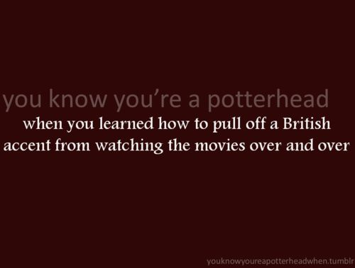 This is so true. And since I'm not a native English speaker, imagine my amusement when I were asked to translate some of the most prominent British saying in the movies to my American friends (who watched, but weren't fans).
