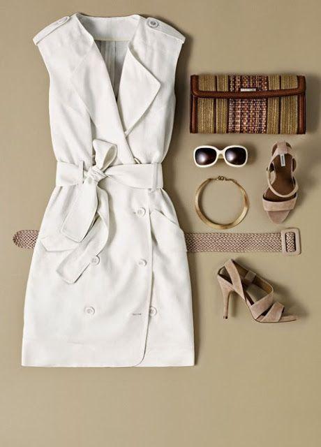 ¡Y yo con estos hilos!: Inspiración: vestidos de estilo safari.