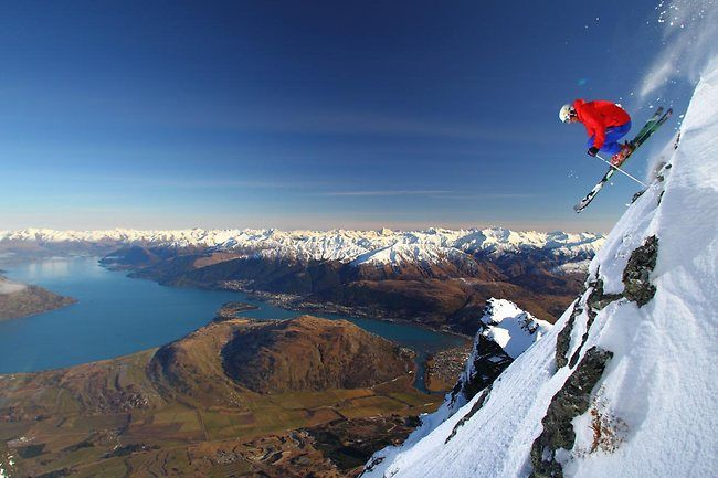 Skiing @ The Remarkables, New Zealand