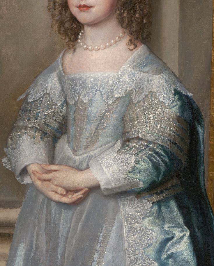 Princess Mary, Daughter of Charles I by Sir Anthony van Dyck