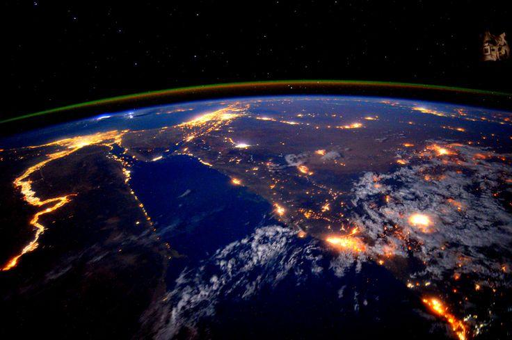 Z wysokości orbity - porcja przepięknych zdjęć od mieszkańców Międzynarodowej Stacji Kosmicznej