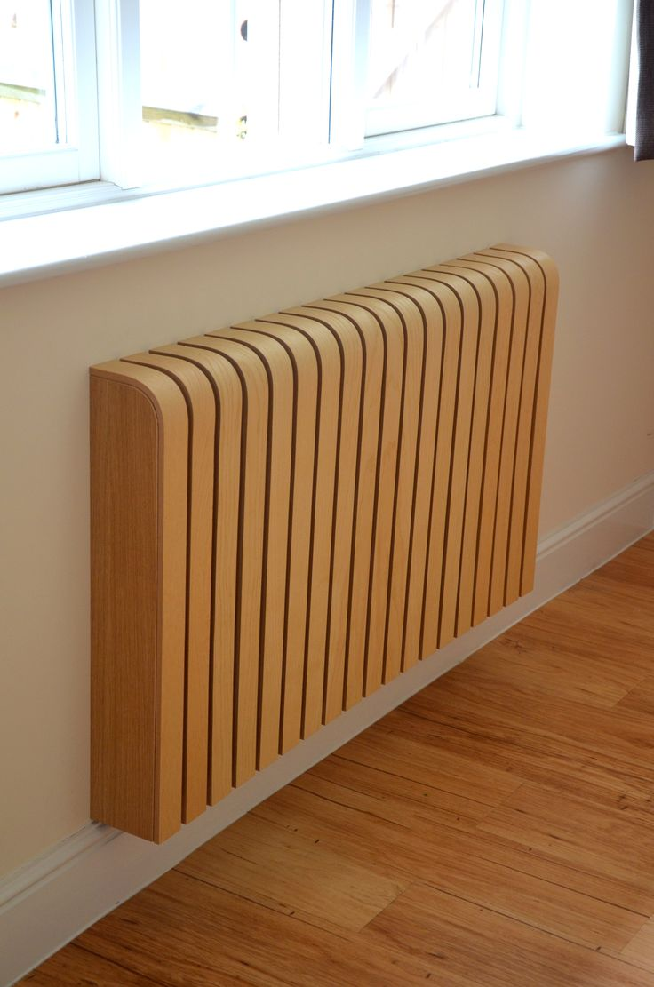 A cool radiator cover!