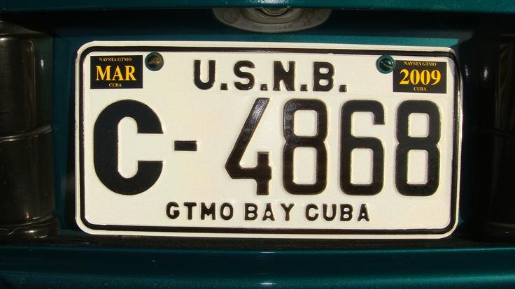 Guantanamo Bay, Cuba license