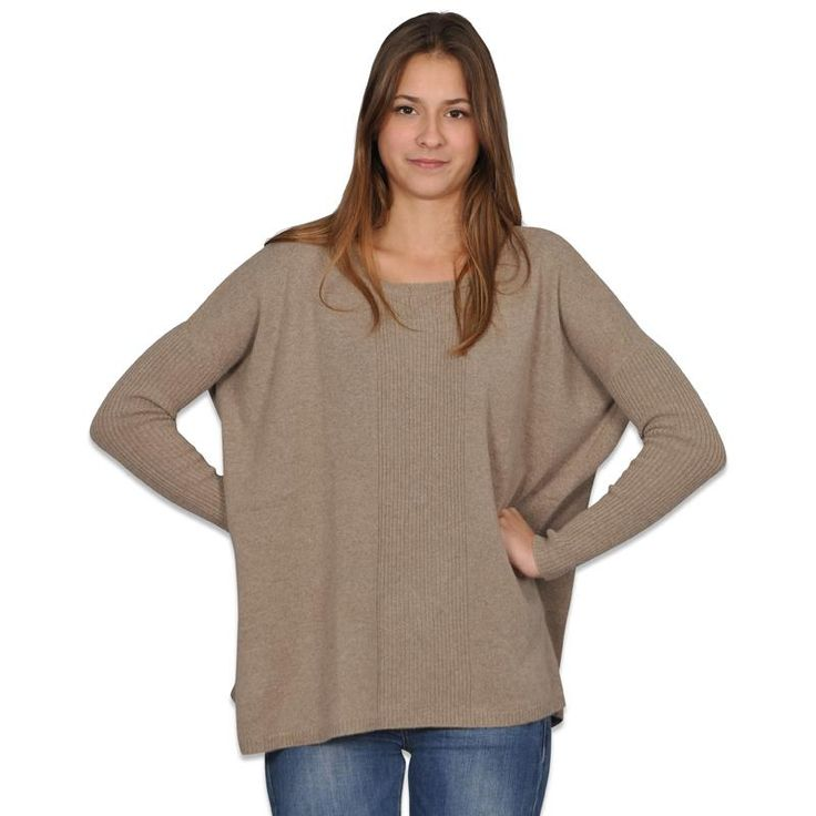 Acanthe - Pull poncho 100% cachemire - Pull Gilet Cardigan - FEMME