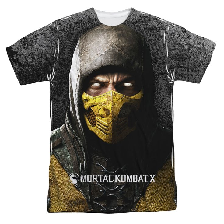 Dorkees.com - Mortal Kombat: Finish Him   Front Sublimated T-Shirt, $25.00 (http://www.dorkees.com/mortal-kombat-finish-him-front-sublimated-t-shirt/)