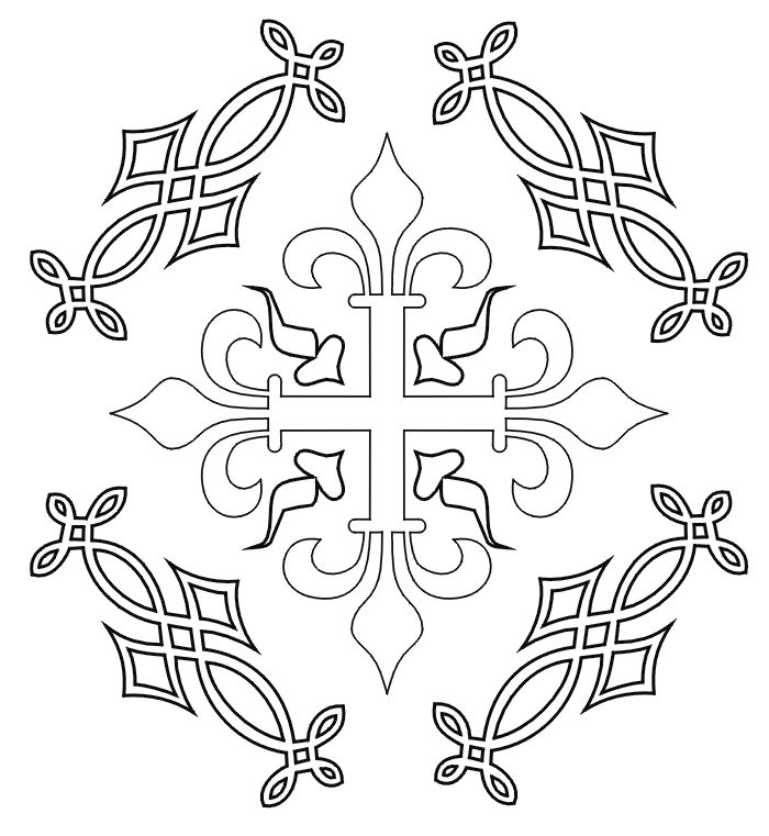Medieval Coloring Pages for Adults | ... not appear when printed. Only the medieval coloring page will print
