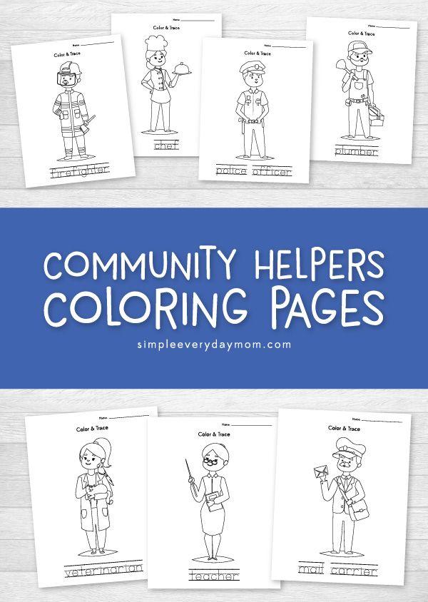 Community Helpers Worksheets That Teach Entertain Kids Vkr