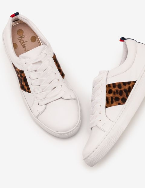 Animal Print Trainers