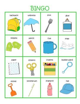 17 best images about object function on pinterest bingo activities and language - New uses common items ...