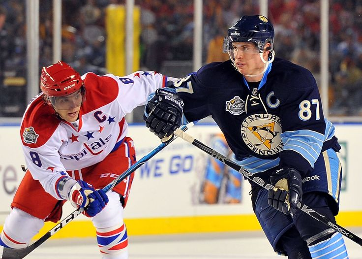 Two of the greatest National Hockey League stars meet tonight at Capitals vs Penguins game