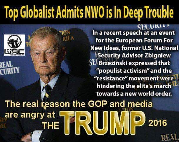 """NWO Warns Of 'Terrible News' For America And The World - Donald Trump NWO 'Enemy Number 1' - False Flag Warning Into 2017 As NWO Panics 