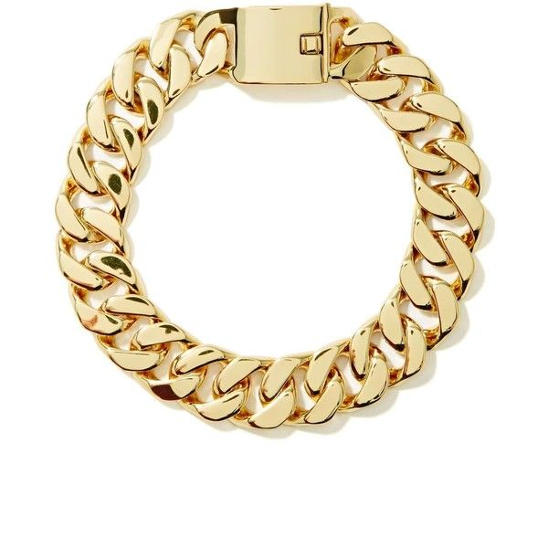 Eliza Chain Choker (€9,56) ❤ liked on Polyvore featuring jewelry, necklaces, accessories, bracelets, gold, gold jewellery, chunky gold necklace, chains jewelry, chunky necklaces and choker necklace