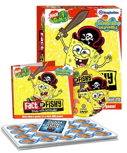 SpongeBob SquarePants Fact or Fishy DVD Game Imagination Entertainment