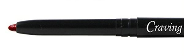 Craving Cosmetics Lip Liner. Ultra-light & smooth, creamy lip liner twisted pen easily glides on lips to where you want the outline precisely. It contains soothing infusion of certified organic Rosehip Oil & Jojoba Oil, and Natural Vitamin E to pamper your lips perfectly when applying with our natural & organic lipsticks.