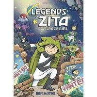 Legends of Zita the Spacegirl Mighty Girl Graphic Novel picks