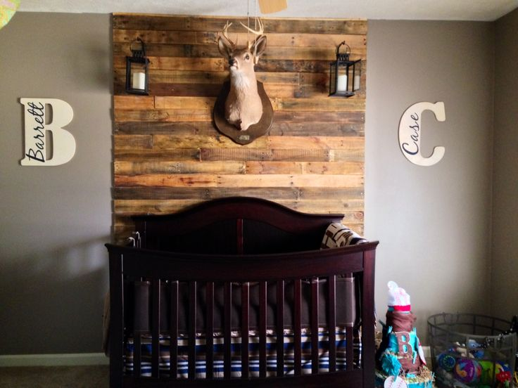 outdoor hunting lodge theme for boys
