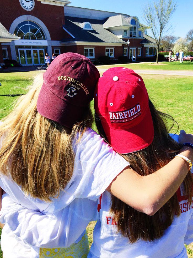 Boston college and Fairfield university