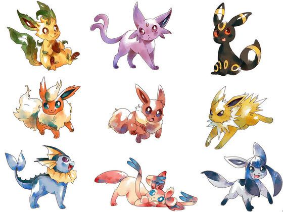 A fun lil' game where you find out what Eeveelution you are.