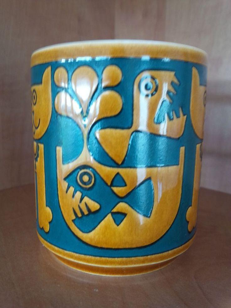 "Hornsea Pottery Retro ""PIRANHA"" MUG - John Clappison - 1972 - + WOW + *V RARE* in Pottery, Porcelain & Glass, Pottery, Hornsea | eBay"