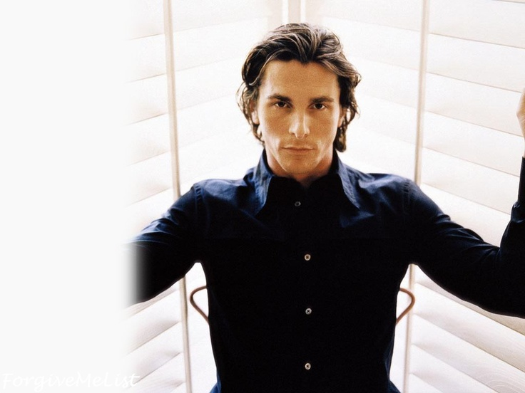 7) Favorite Male Actor - Christian Bale