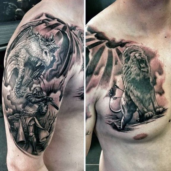 64 Best Images About Knight Tattoo Ideas On Pinterest