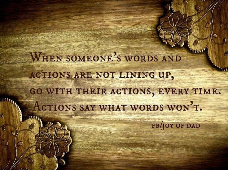 Action Quotes Tumblr Actions Speak Quotes