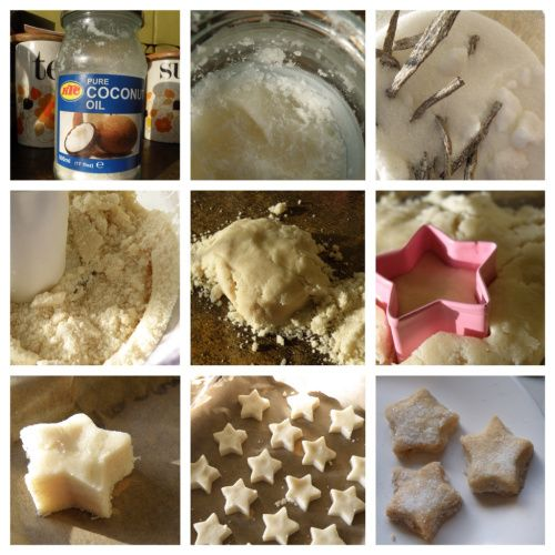 Shortbread Biscuits made with Coconut Oil   i bake without