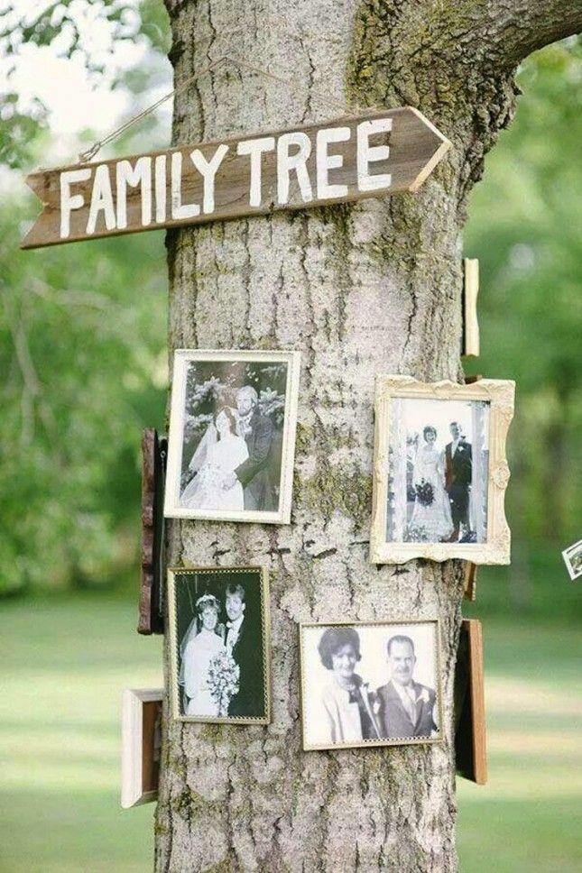 What a gorgeous + totally clever way to incorporate both of your families into the wedding.