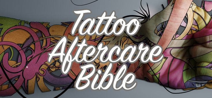 The absolutely definitive tattoo aftercare bible. Tips and instructions explaining what to do, and definitely what NOT to do after getting your new tattoo.