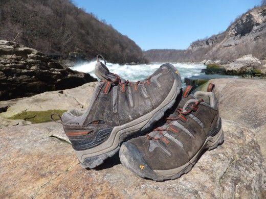 @KEEN Footwear Gypsum boots down in the Niagara Gorge.