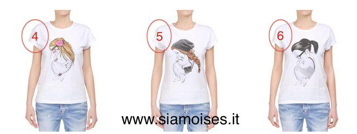 #tshirt #siamoises mod.  4-#Hippie 5-#Hipster 6-#Nerd