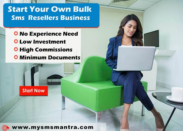 Start your own Bulk sms reseller business with the help from www.mysmsmantra.com Join the best bulk sms provider company in india Today. # https://goo.gl/bwBvf