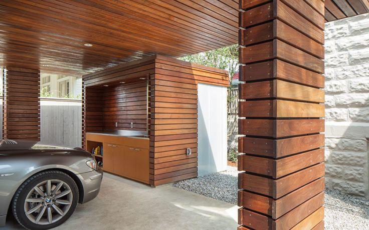 Carport for a Private Residence — studioWTA Garager
