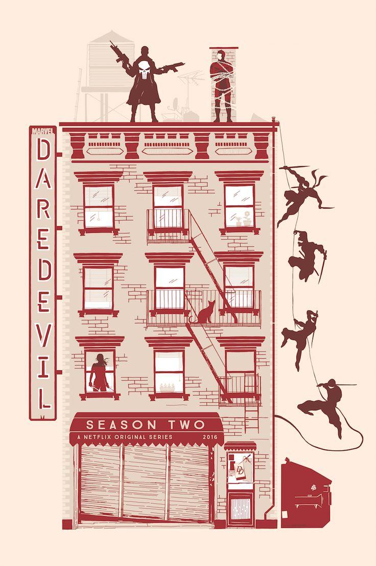 "Tribute to Netflix/ Marvel ""Daredevil: Season 2"" on Behance"
