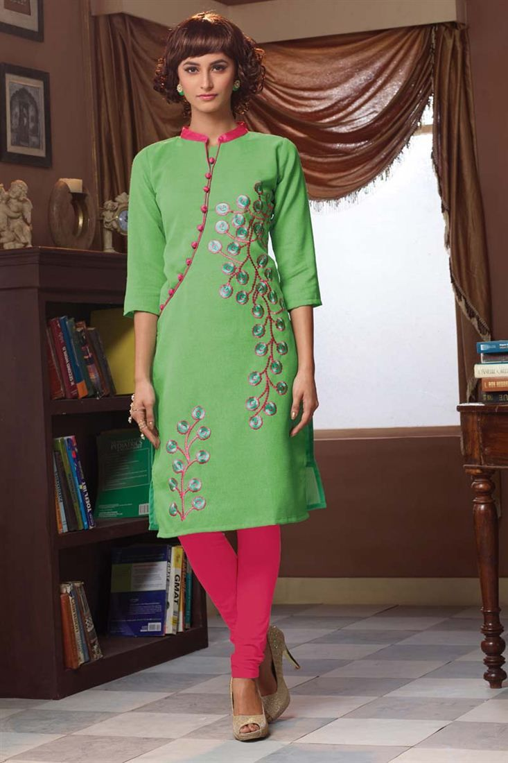 Checkout Exclusive Collection of Latest #Party Wear #Kurties  Look stylish and gorgeous in any party or event by cladding into this gorgeous kurties.  Shop Now @ http://www.sanwaree.com/Shop/KURTIS  Call / WhatsApp : +91-84607 17662