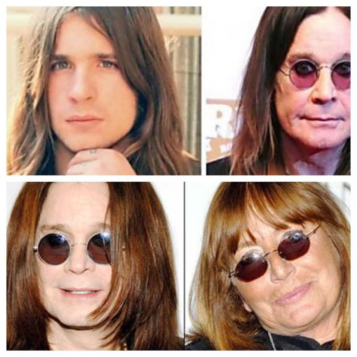 Ozzy Osbourne's inevitable evolution from young metal heart throb into Penny Marshall.