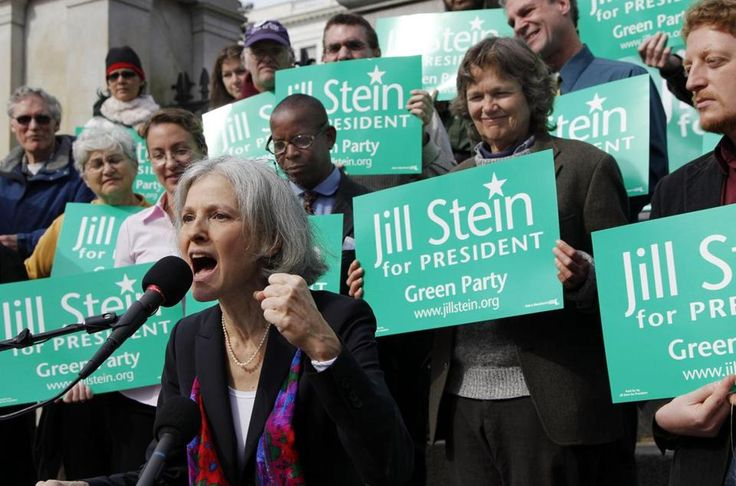 Jill Stein, the Green Party's presidential candidate in 2012, is considering another run at the presidency.