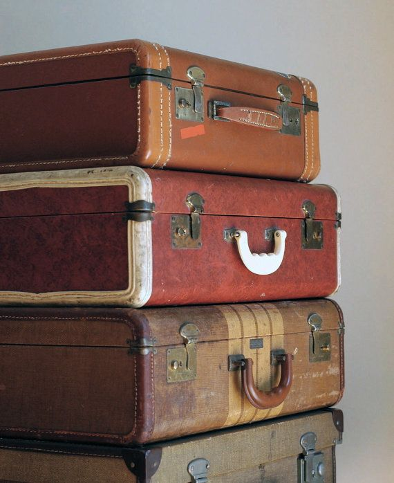 219 best Vintage Luggage images on Pinterest | Vintage luggage ...