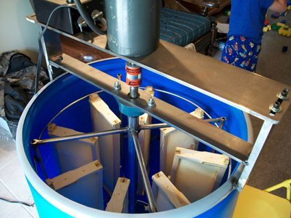 DIY Extractor: How We Made Ours - Show Me The Honey! - Christopher Beeson - Beekeeper Blog - St Louis Missouri