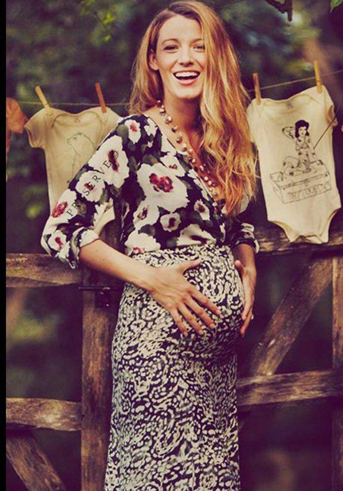 Blake Lively enceinte waouhhh